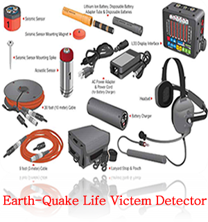 Earth Quake Life Victim Detector